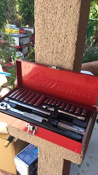 black and red gas grill Santa Ana, 92707