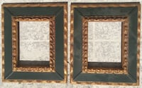 Two brown wooden framed mirrors Palm Beach, 33480
