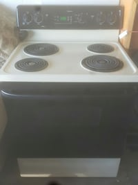 white and black 4-coil top range Kissimmee, 34743