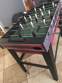 black and red foosball table Amarillo, 79102