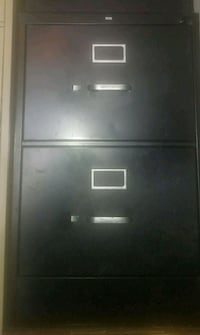 Black 2 Drawer Legal Size Wichita, 67211
