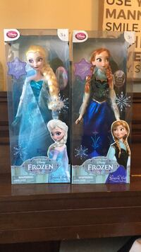 Elsa and Anna Disney Singing and Light up Dolls  Baltimore, 21222