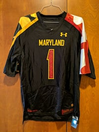 Under Armour Maryland Football Jersey Baltimore, 21230