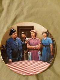 The Official Honeymooners plate collection Las Vegas, 89108