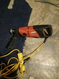 orange and black corded power drill Edmonton, T5B 3H2