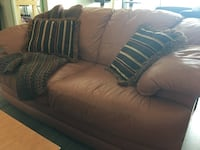 Love Seat GENUINE LEATHER Sofa for sale Toronto, M6M 5A2