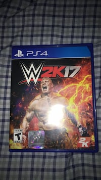 WWE 2K17 PS4 game case Kissimmee, 34746