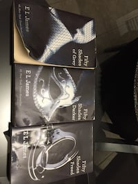 three Fifty Shades of Grey books Cambridge, N1T 2C3