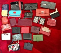 Lot of wallets, mostly leather Springfield, 22152