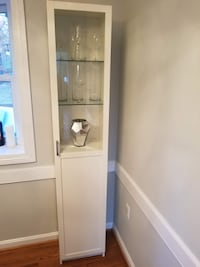 White display cabinet / bookcase