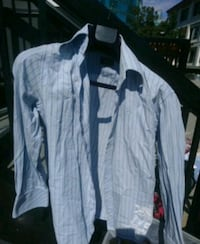 white and black plaid dress shirt Vancouver, V6B 1T9