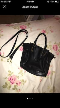 Black 2-Way Purse