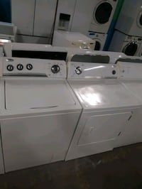 WHIRLPOOL TOP LOAD WASHER AND DRYER SET WORKING PERFECTLY
