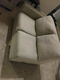 white and brown fabric sofa chair Monroe, 98272