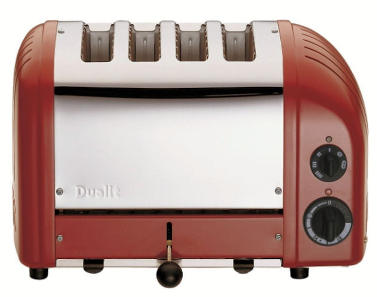 Over 25% off -   RED - Dualit 4-Slice Toaster - Never Been Used ccb5cdc3-4ded-431f-81c9-a6854e9ddb80