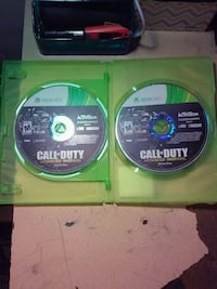 two Xbox 360 Call of Duty game discs Alexandria, 22311