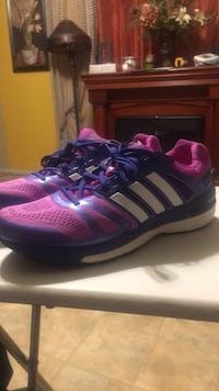 pair of purple-and-white adidas running shoes West Sacramento, 95691