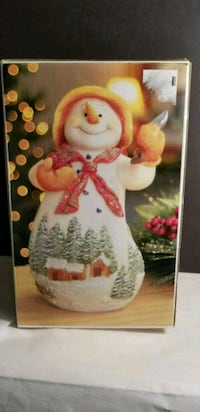 Vintage Holiday Kirklands Snowman - Unused - Open  Waldorf, 20602