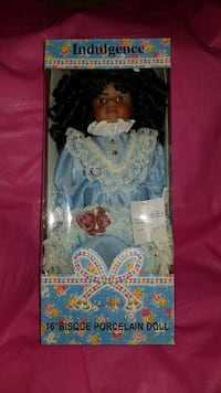 """16"""" Bisque porcelain doll in box Capitol Heights, 20743"""