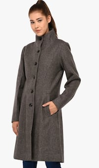 Owncraft - women wool grey solid winter jacket (New) Calgary, T3N 1J9