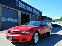 2010 Ford Mustang, 87km Vancouver