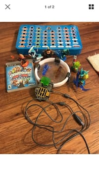 Sky landers portal with 6 figures and board Norco, 70079