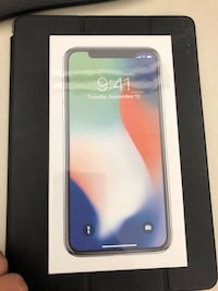 Silver iPhone X 256GB Unlocked