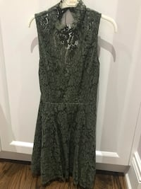 Green lace Cocktail Dress Toronto