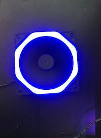 120mm PC Fan Blue LED Mc Lean, 22102
