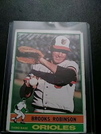 1976 Brooks Robinson Baseball card Millersville, 21108
