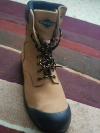 Brand new Steeltoe boots for $70.00 Surrey, V3T