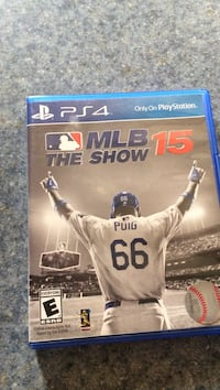 MLB The show 15 PS4 game case Mount Airy, 21771