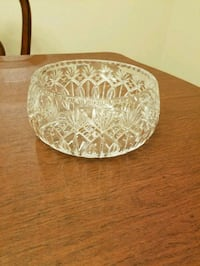 Crystal lead bowl. Springfield, 22153