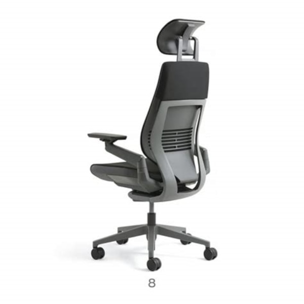 Used Steelcase Gesture Office Chair With Headrest For Sale In San