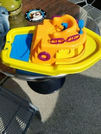Boat for a pool child.