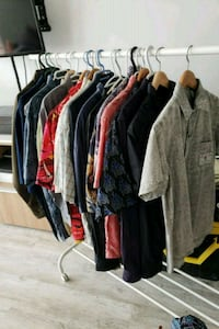 Collection of 20 mens shirts in various sizes