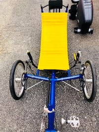 Yellow and blue bicycle trailer Fairfax, 22033