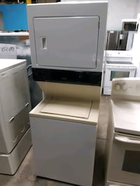 GAS LAUNDRY CENTER WORKING PERFECTLY 4 MONTHS WARRANTY