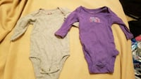 baby's two pink and one gray onesies McAllen, 78504