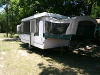 white and gray RV trailer Irving, 75060