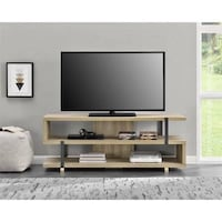 """Galloway TV Stand for TVs up to 70"""" Wide, Brown Oak  Retails for $249.00 Our Price $179.00  Sweet November Sale!!! JM 1203 mi"""