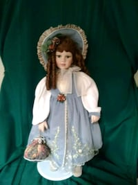 porcelain doll in white dress Henderson, 89015