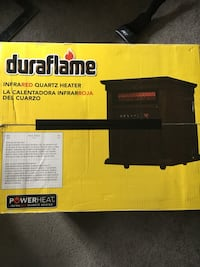 DuraFlame Infrared Quartz Space Heater