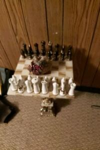 Very Italian 40s,chess set looking for a new home, White Rock, V4B 2S8