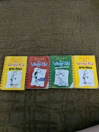 #3 Diary of a wimpy kid books Portage, 46368