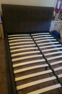 QUEEN bed frame with bluetooth speaker Norfolk, 23551
