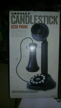Candlestick desk phone