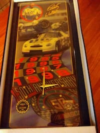 50th Anniversary Rusty Wallace Wall Clock Springfield, 65804