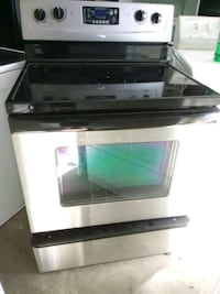 black and white induction range oven Virginia Beach, 23464