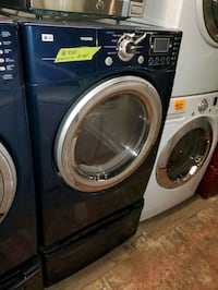 LG electric dryer with pedestals working perfectly four months warrant Baltimore, 21223